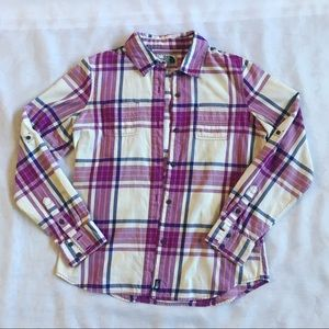 The North Face Button Down Flannel